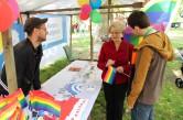 Respect Gaymes 2014, Rundgang von Staatssekretärin Barbara Loth und Jörg Steinert (LSVD)