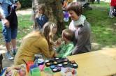 Respect Gaymes 2014, Village Kinderschminken beim regenbogenfamilienzentrum