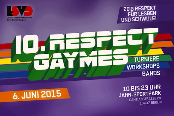 Respect Gaymes 2015