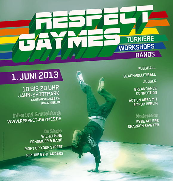 Respect Gaymes 2013 Poster