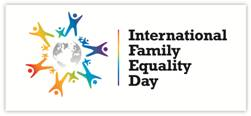 Logo: International Family Equality Day